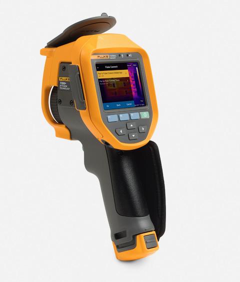 Fluke wprowadza na polski rynek kamerę termowizyjną Ti300+