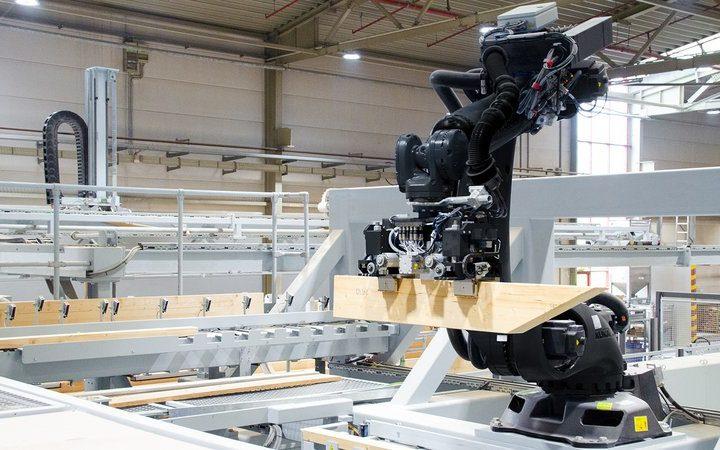 Zastosowanie robotów w przemyśle drzewnym